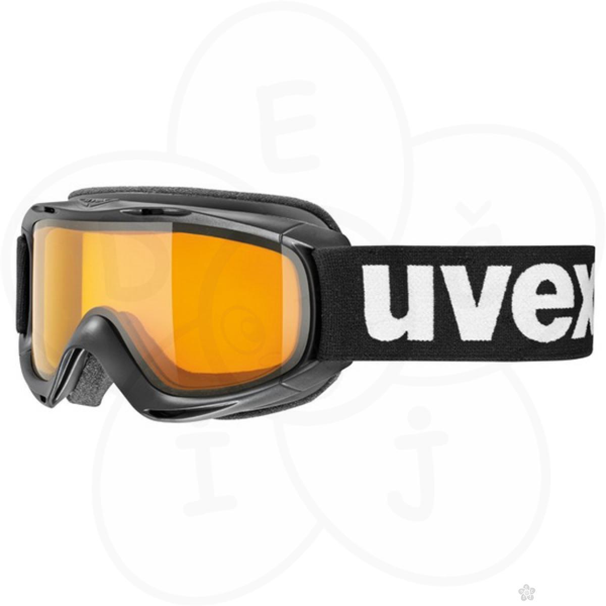 Naočare za skijanje UVEX SLIDER black-lasergold lite, SKI-S5500242129