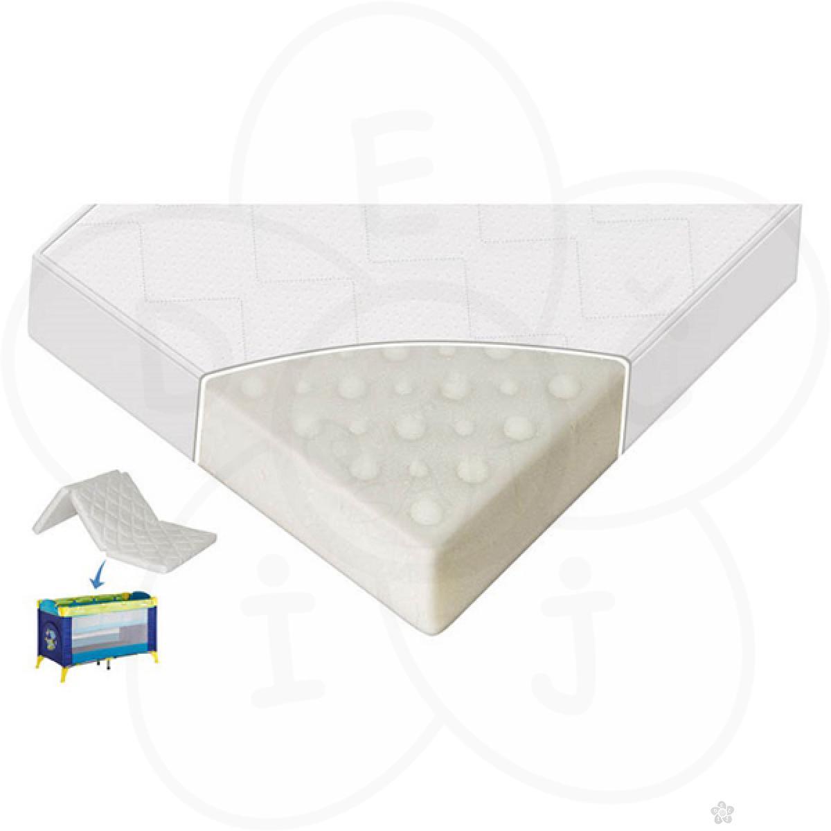 Dušek za prenosivi krevetac Air Comfort 60/120/6 cm
