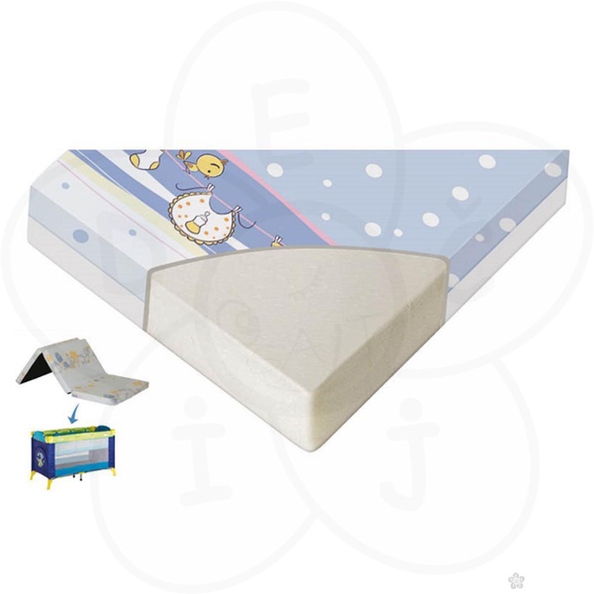 Dušek za prenosivi krevetac Sleeper 60/120/5 cm