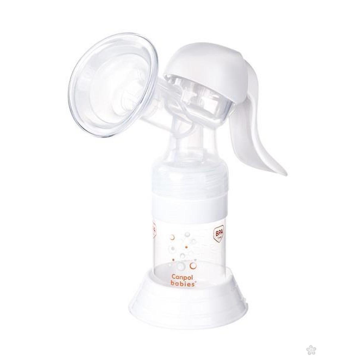 Canpol set za 12/25 za izmazivanje mleka + tuferi
