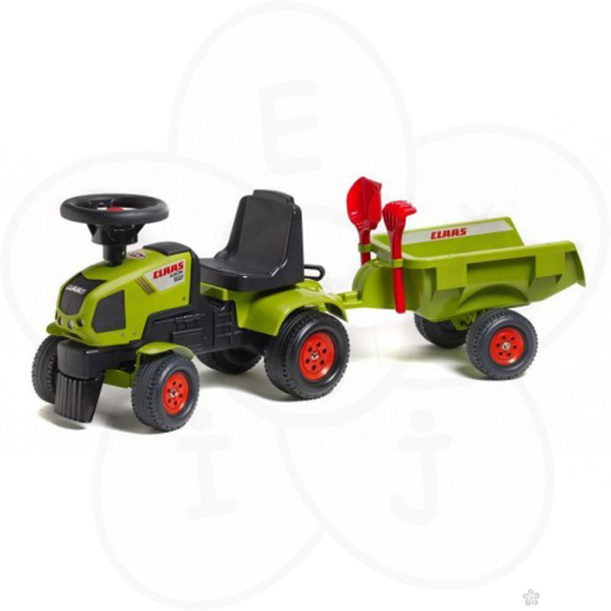 Guralica Falk Traktor sa prikolicom