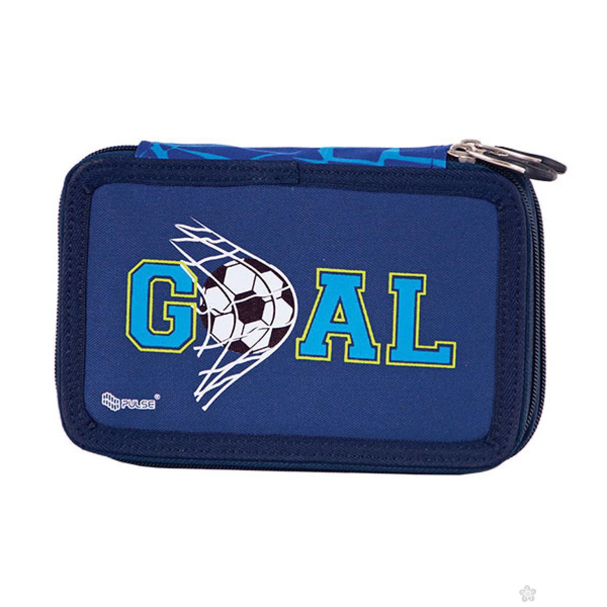 Dvodelna pernica Anatomic Blue Goal
