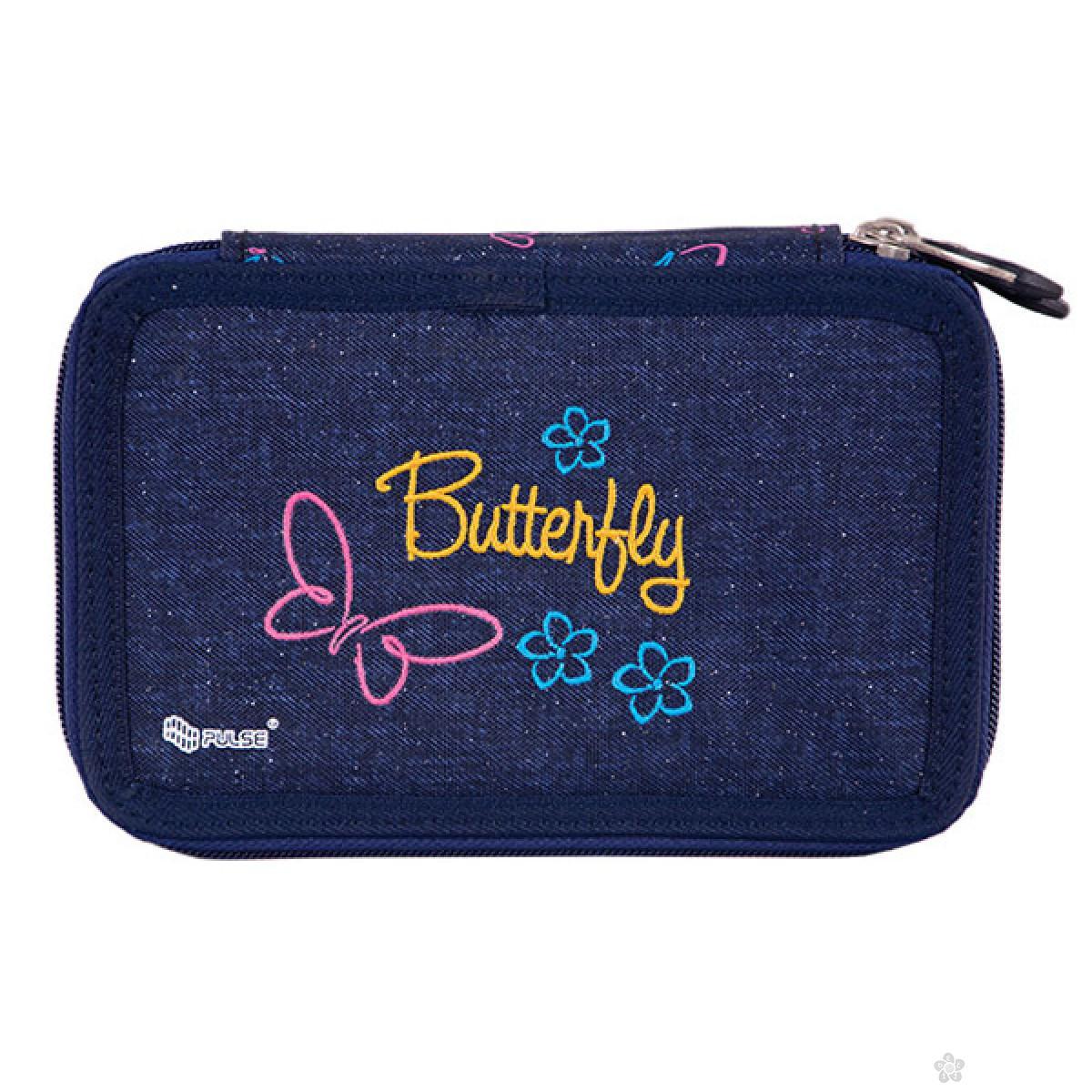 Dvodelna pernica Anatomic Jeans Butterfly