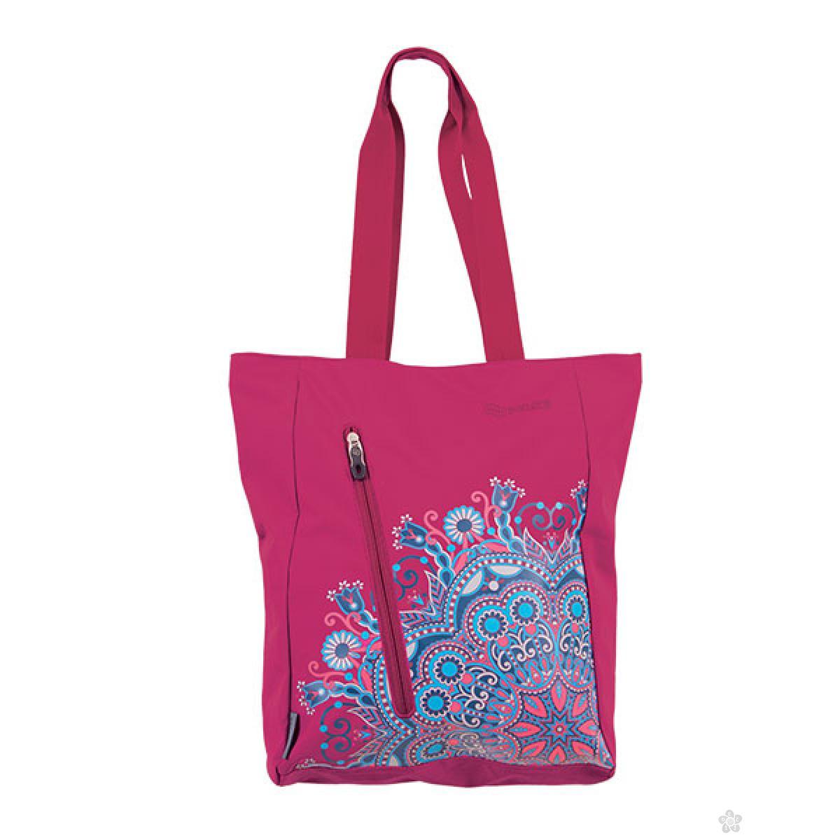 Shopping bag Spin Violet Etno