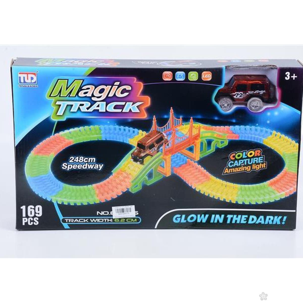 Magična auto staza 169 delova 11/84016