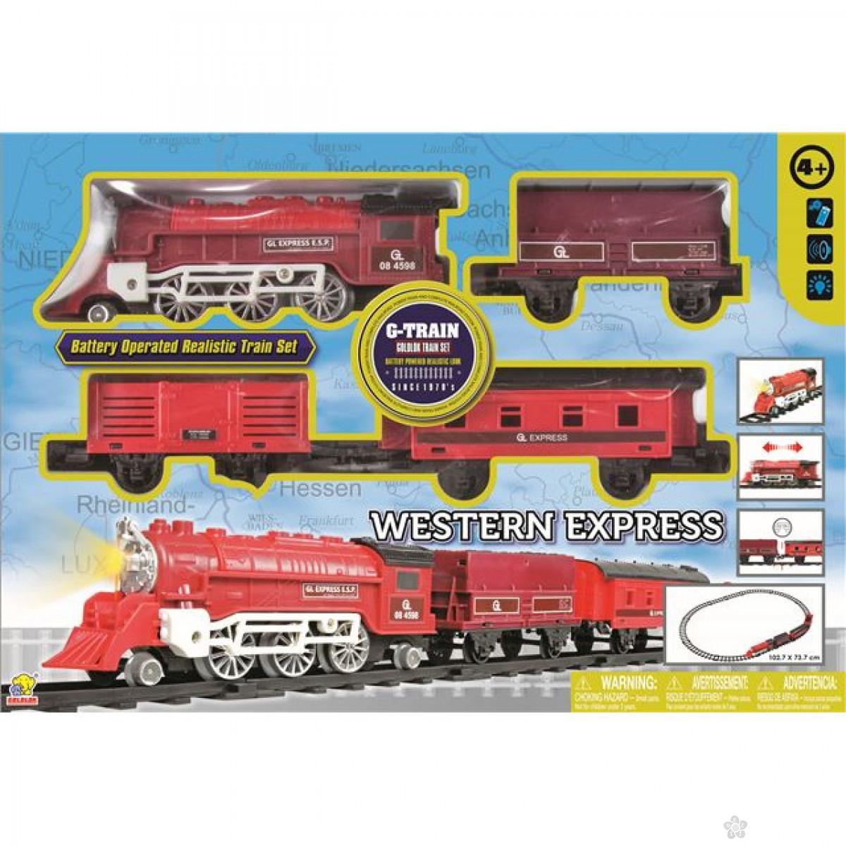 Vozić na baterije Western Express 0127522