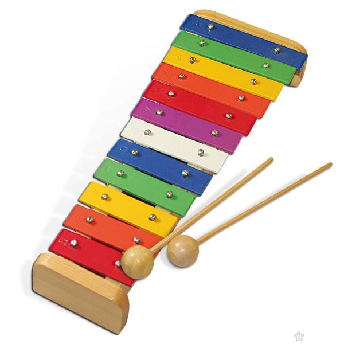 Talent Ksilofon u boji 12 tonova 10560