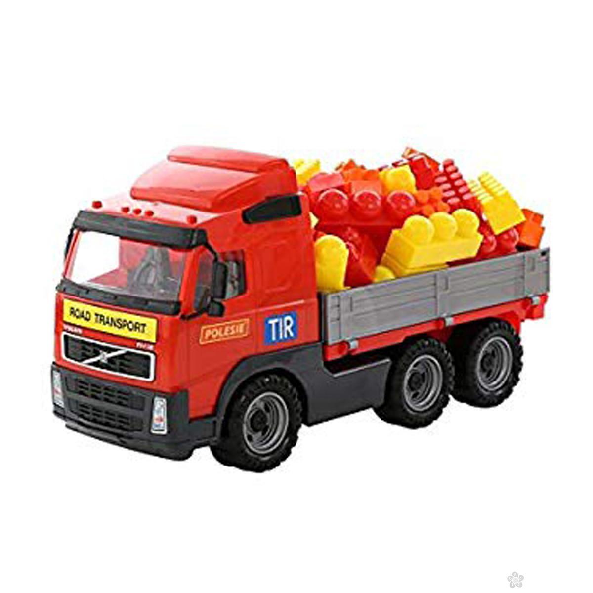 Kamion Volvo sa kockama 9739
