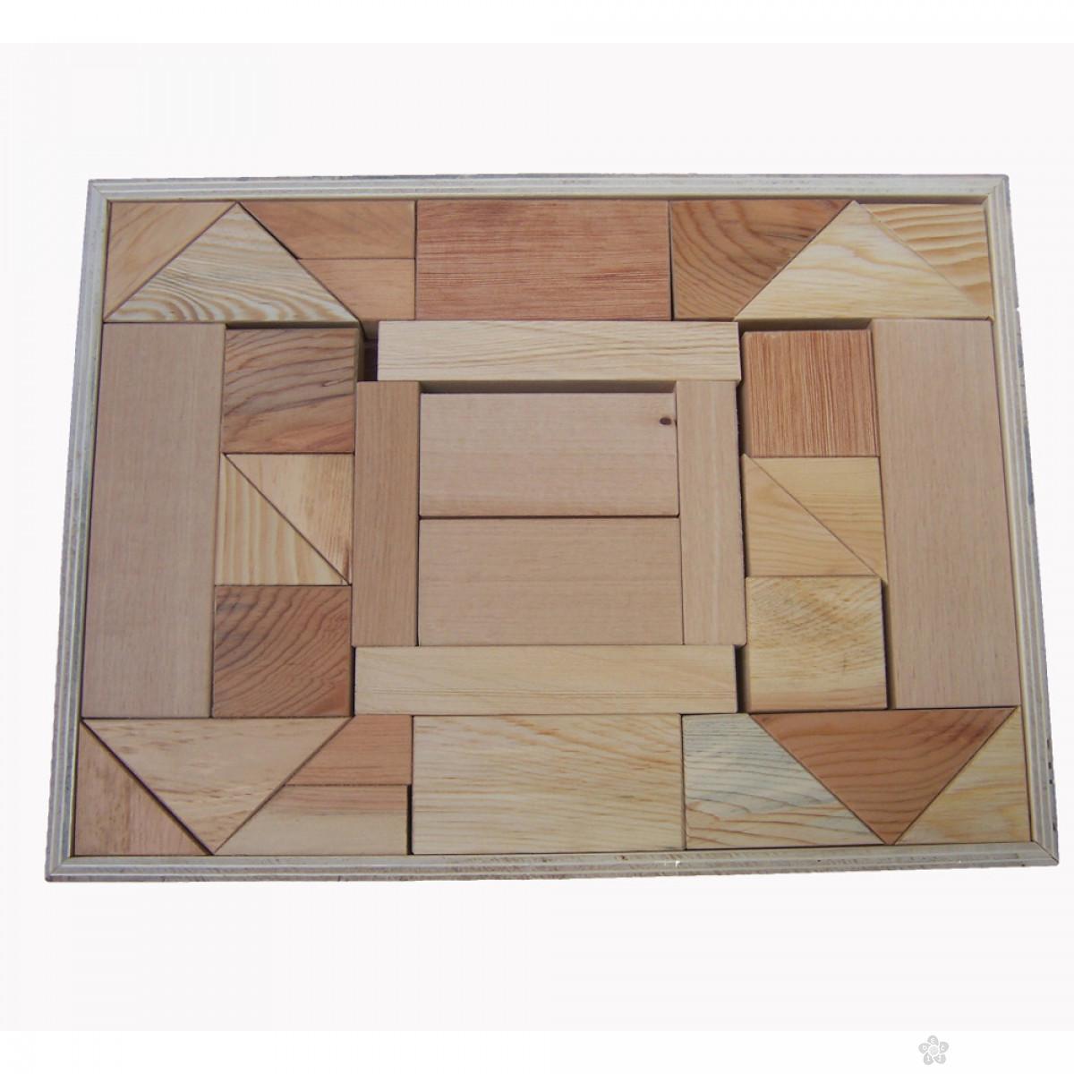 Drveni blokovi 32 dela Eksen EK-BA26
