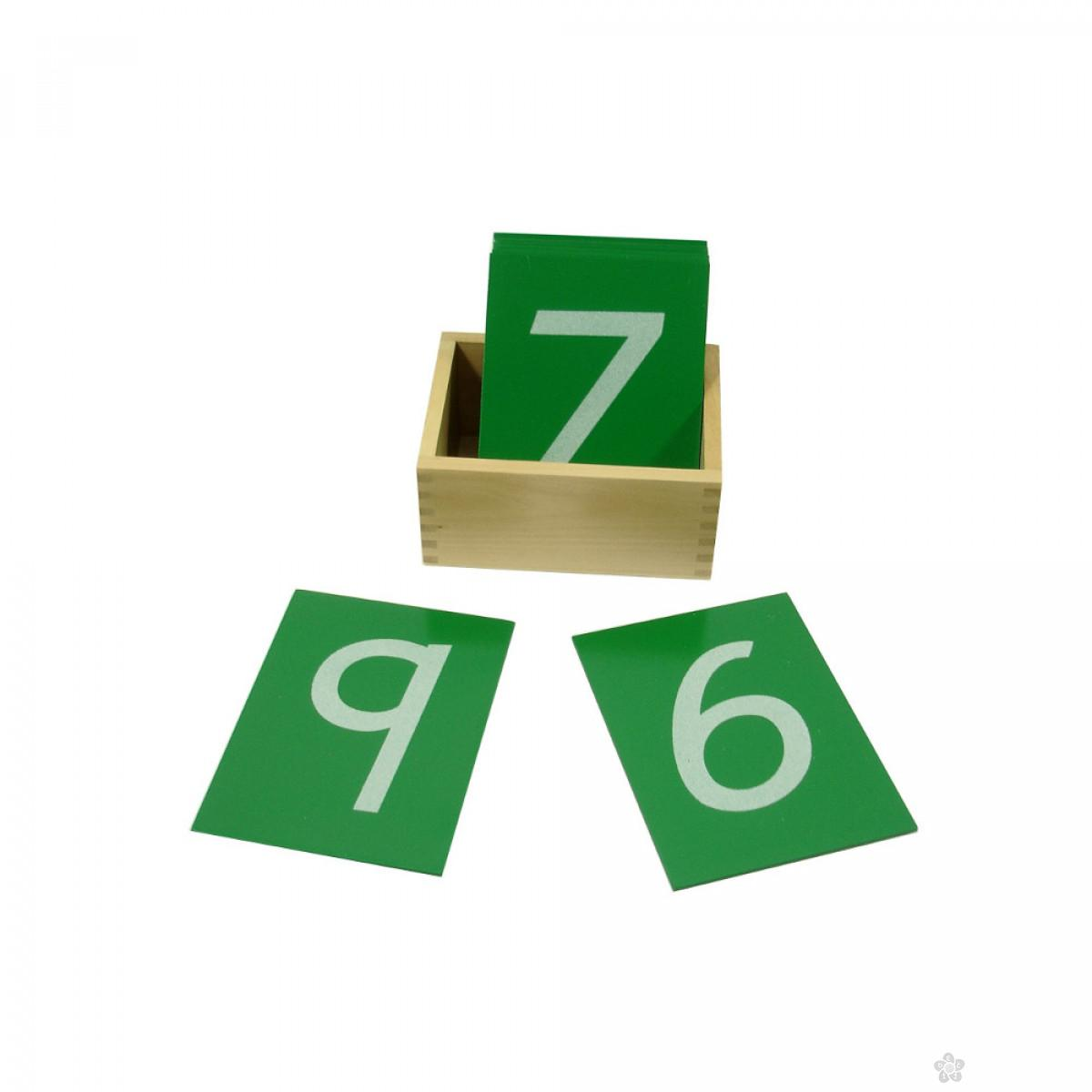 Montesori Taktilne kartice sa brojevima HTM0124