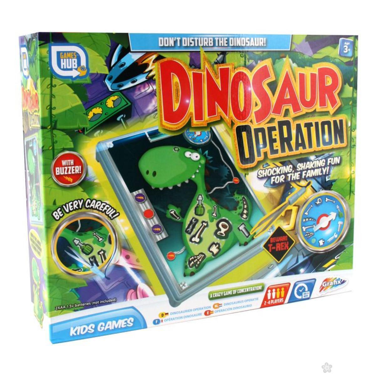 Društvena igra Operacija dinosaurus 35/04171