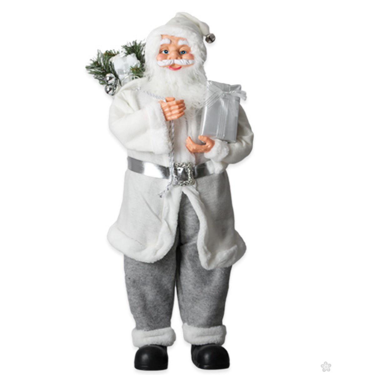 Deda Mraz Christopher srebrni 90cm 740669