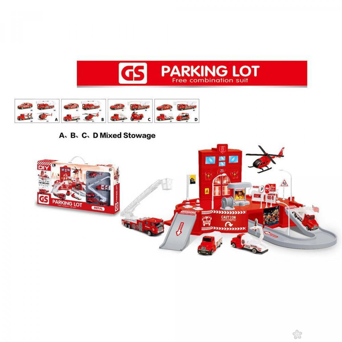 Parking set vatrogasci spasioci 004826