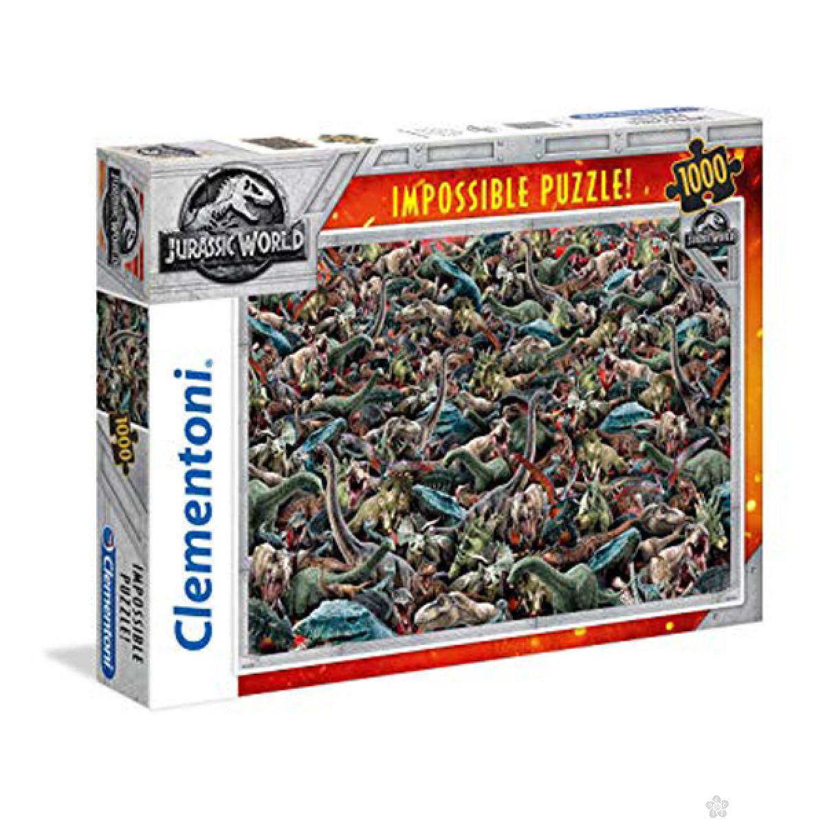 Puzzla Jurassic World 1000 delova Clementoni 39470