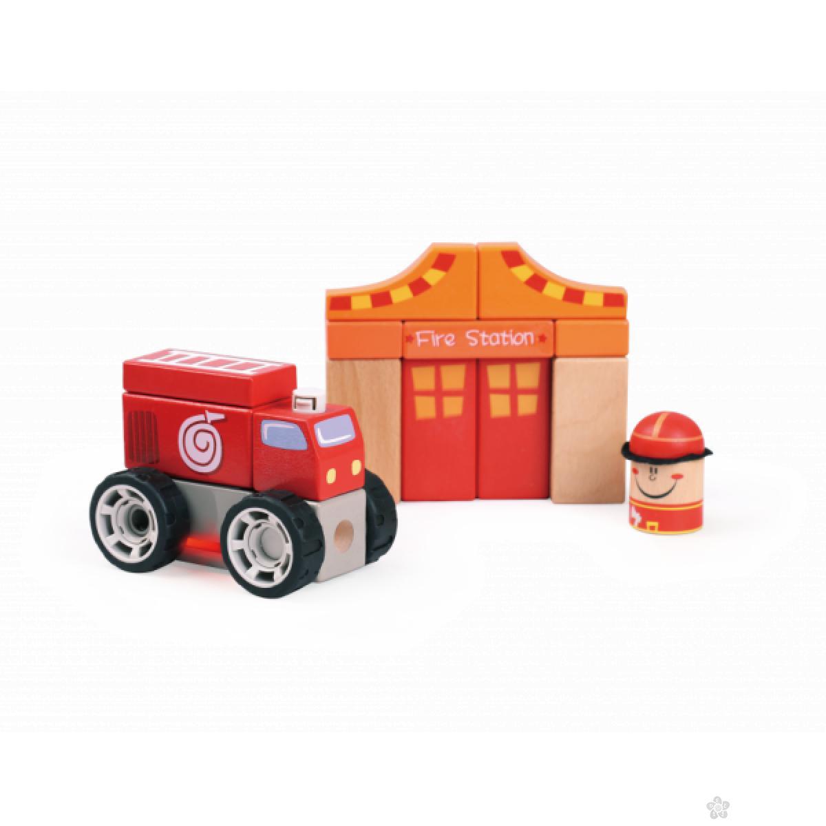 Zvučna igračka Vatrogasac ToP Bright 150176
