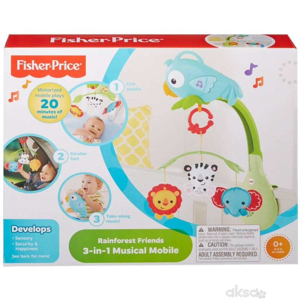 Fisher Price projektor 3 u 1  MACHR11
