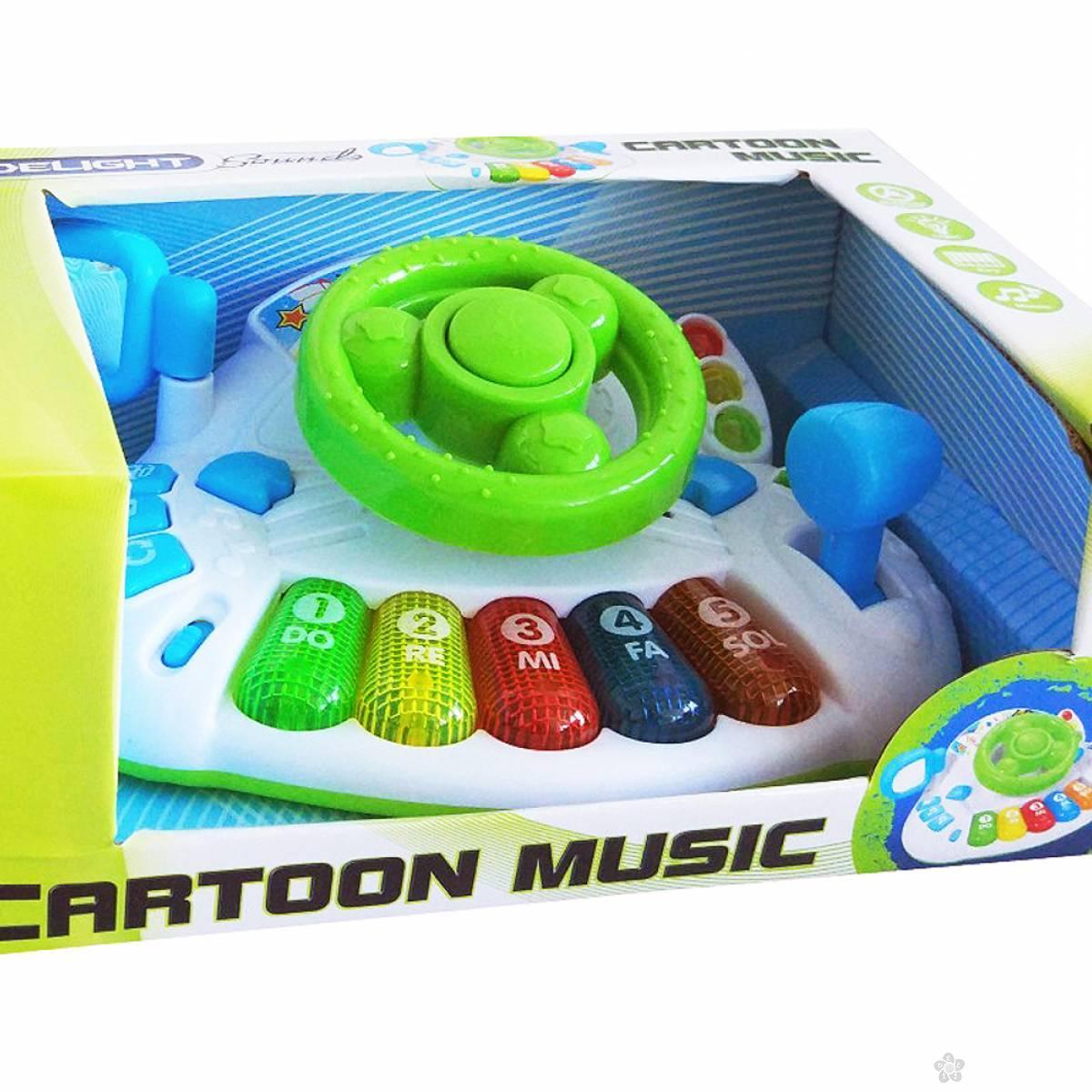 Muzički volan Cartoon 290106