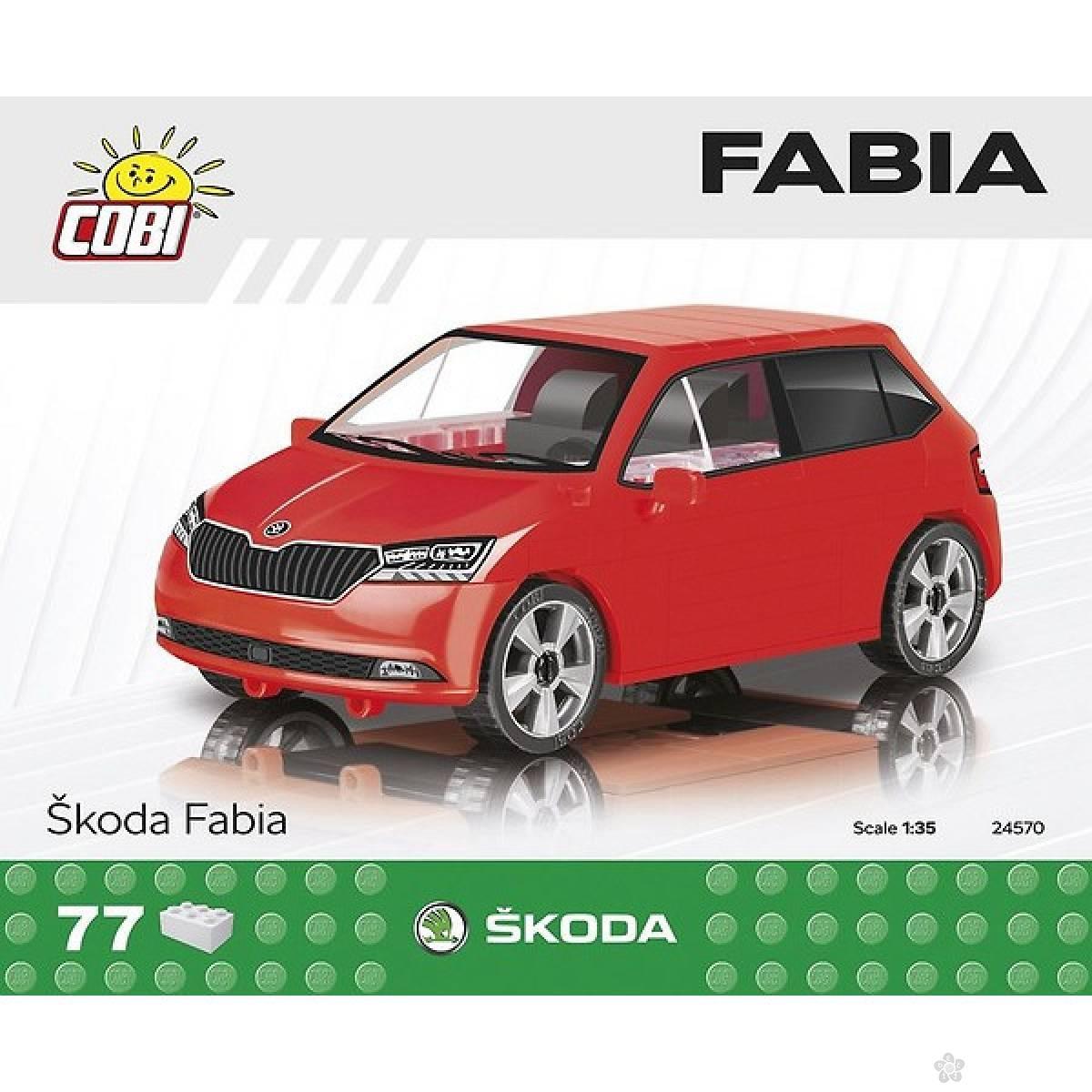 Kocke Cobi Škoda Fabia C24570