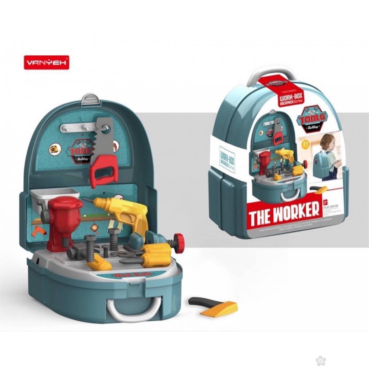 Kofer ranac set alata 204123