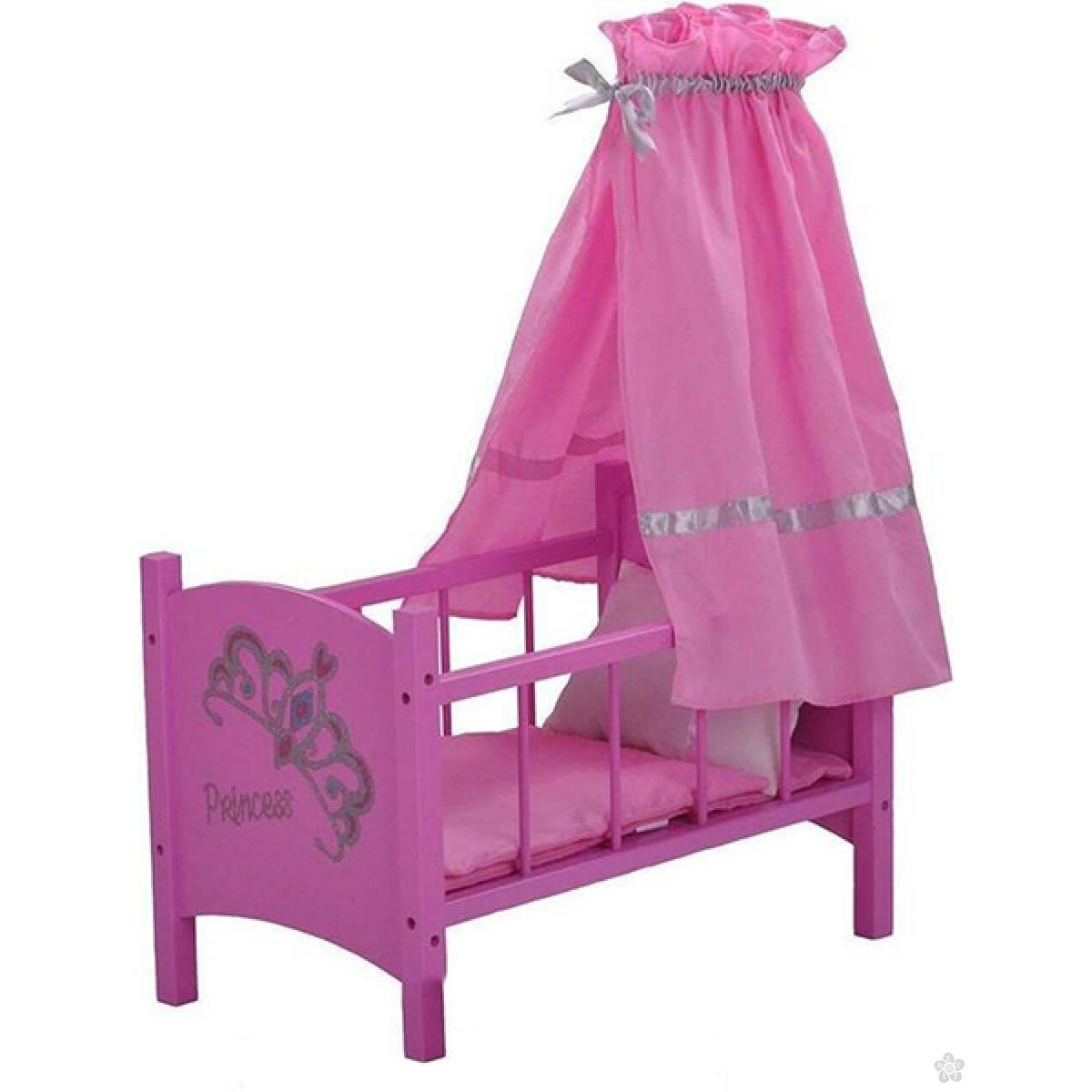 Krevetac za lutke drveni Diadem 67224
