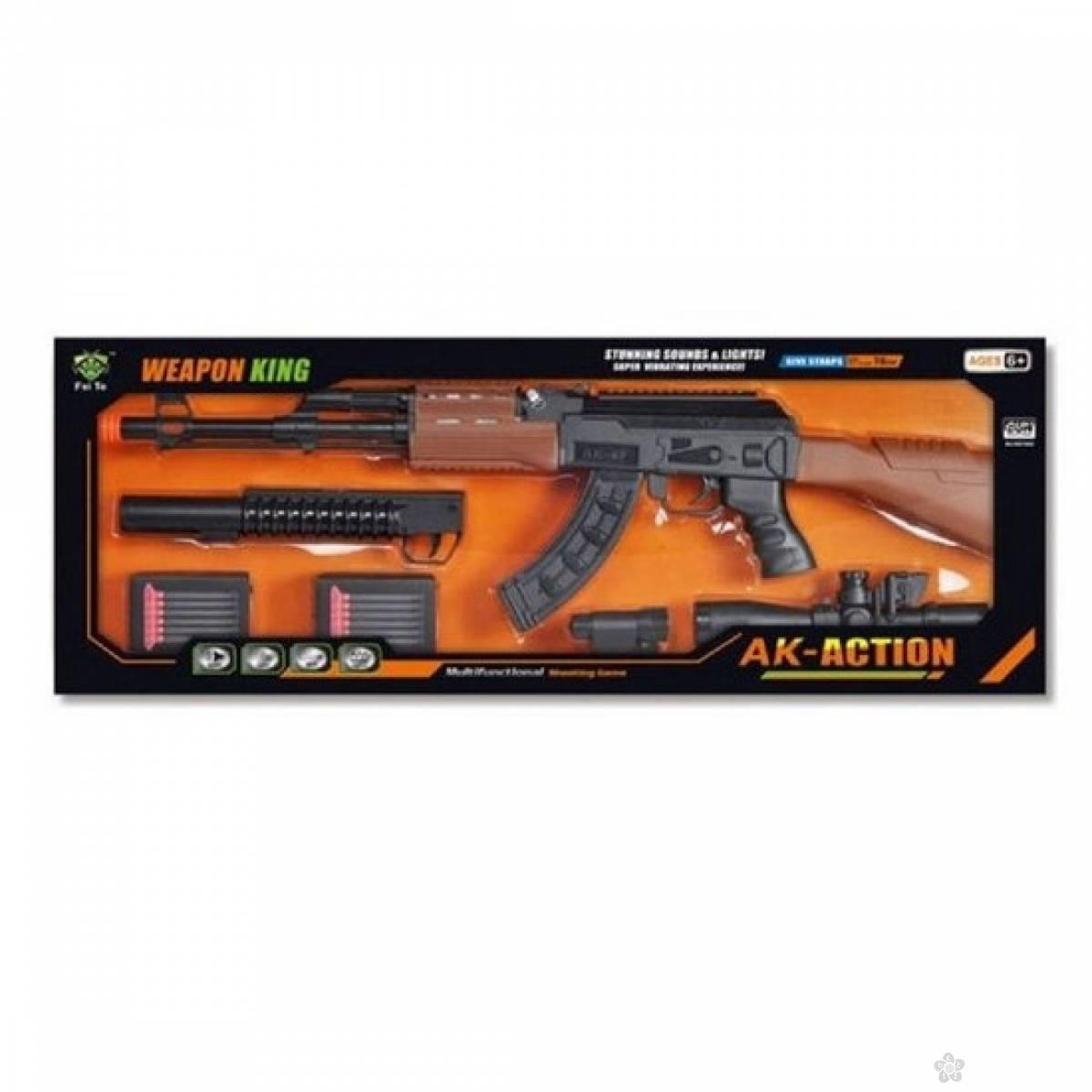 Weapon King AK-Action puska 241327