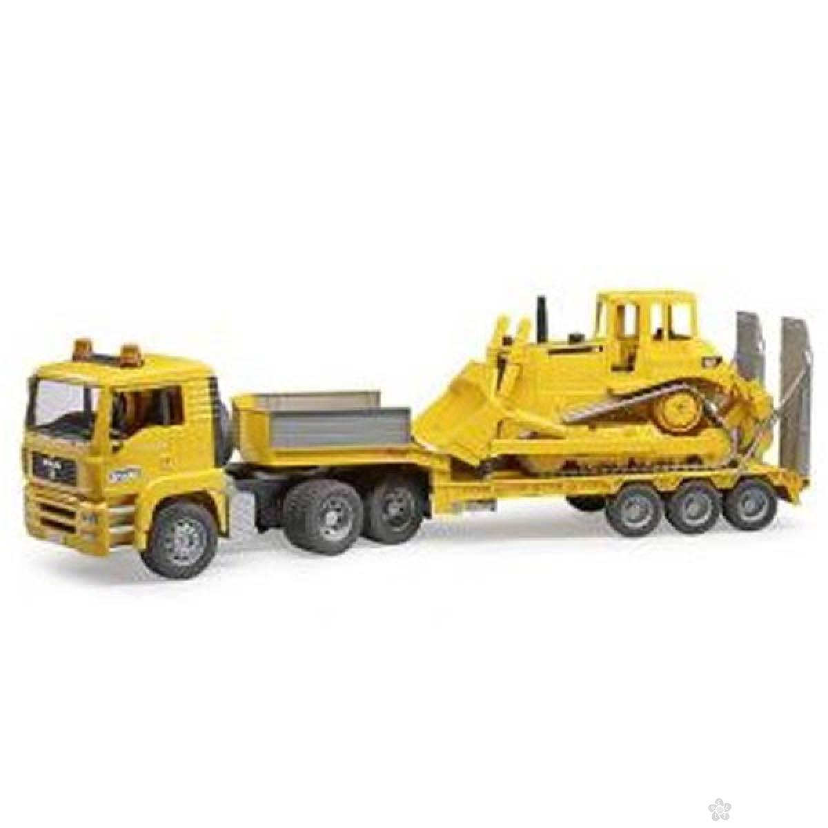 Kamion Man Tegljač sa buldožerom 016289