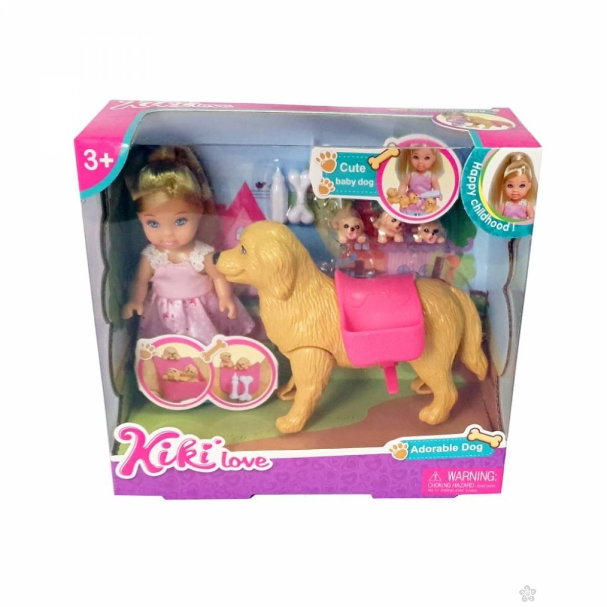 Lutka Kiki sa psom 420301