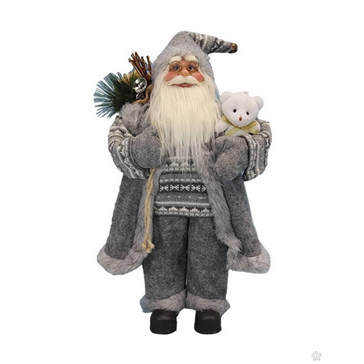Deda Mraz 60cm sivi 740841