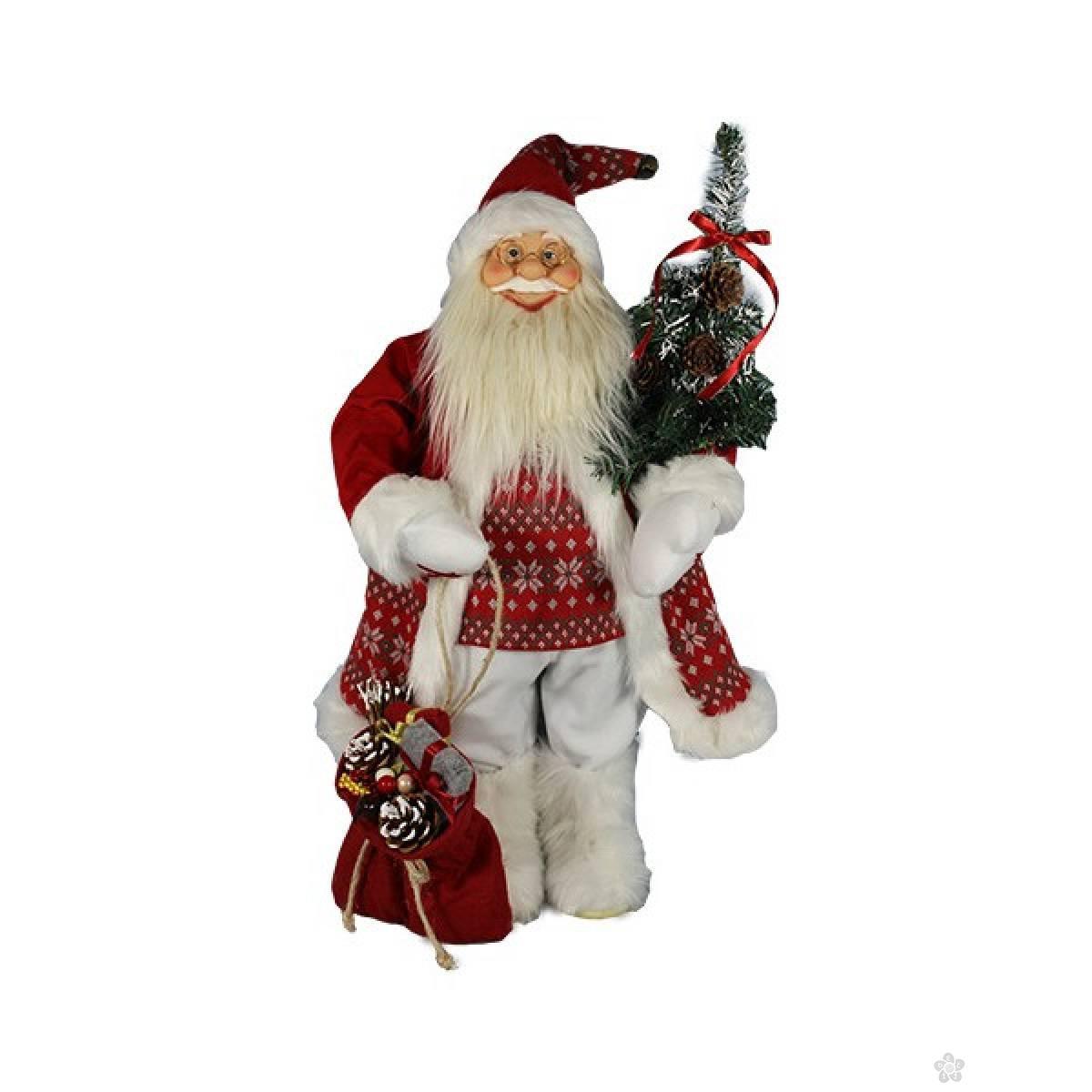 Deda Mraz Santa 45cm crveni 740830