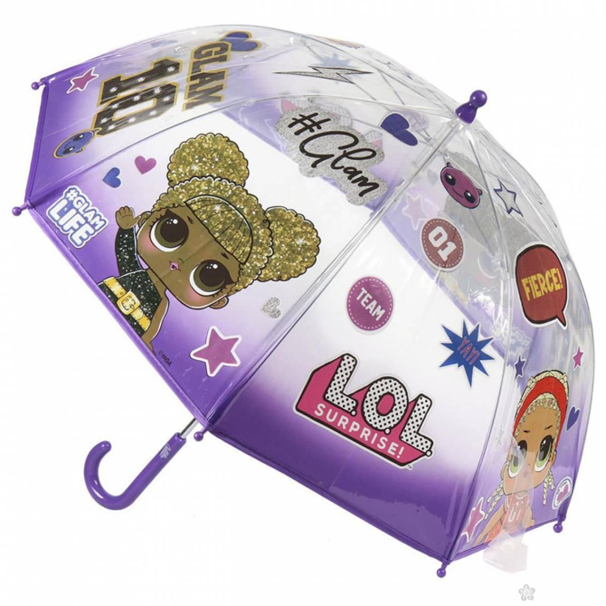Kišobran dečji ručni 45cm Lol Glam Cerda 2400000513