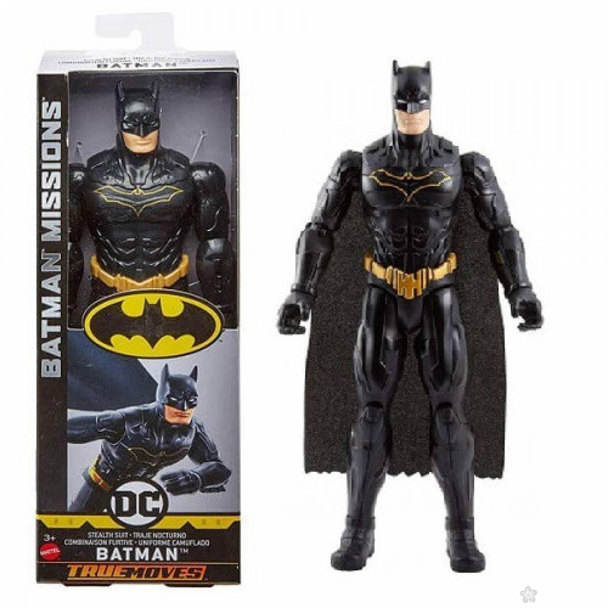 Akcijska figura Batman u crnom odelu MAFVM74