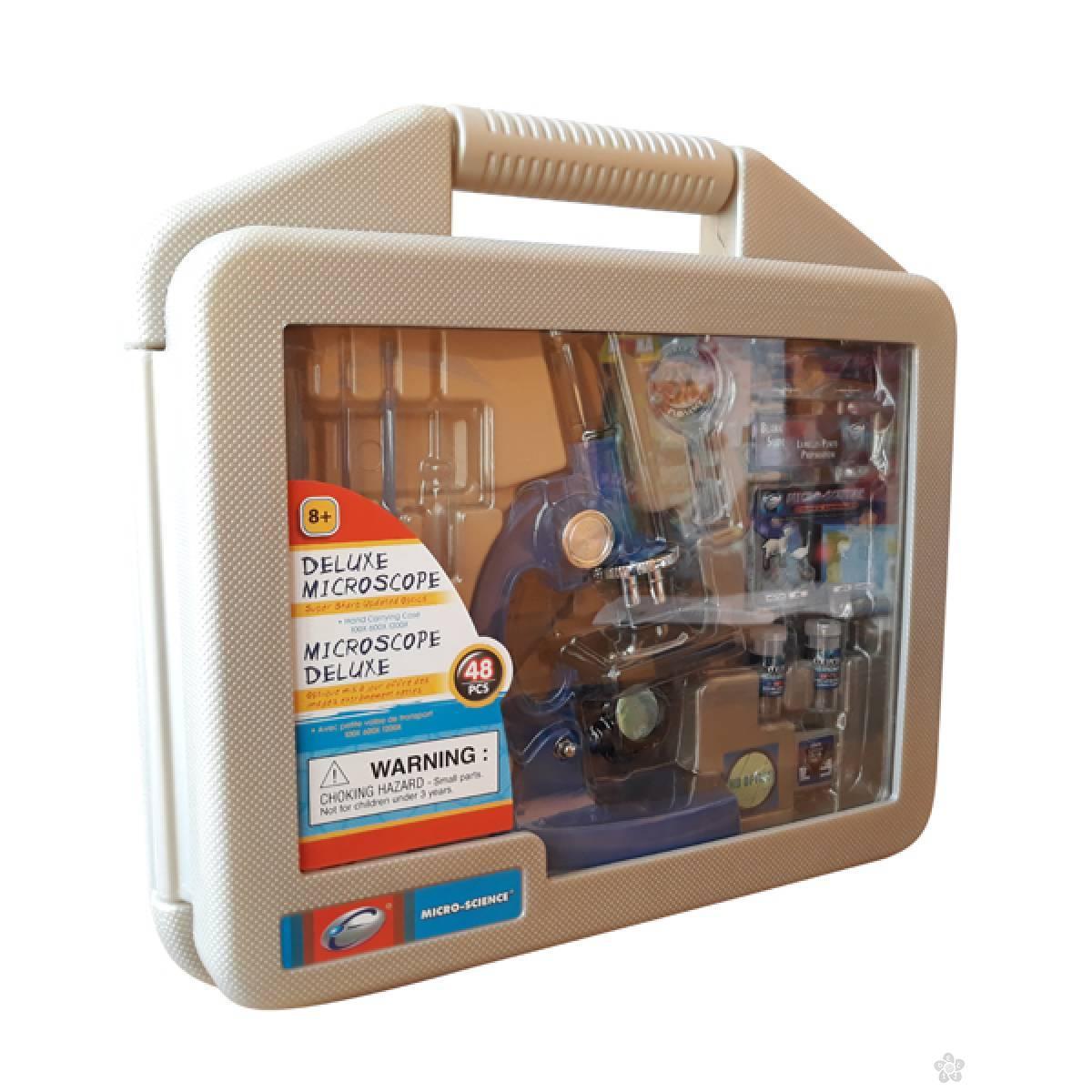 Deluxe mikroskop u koferu 48 delova 90101