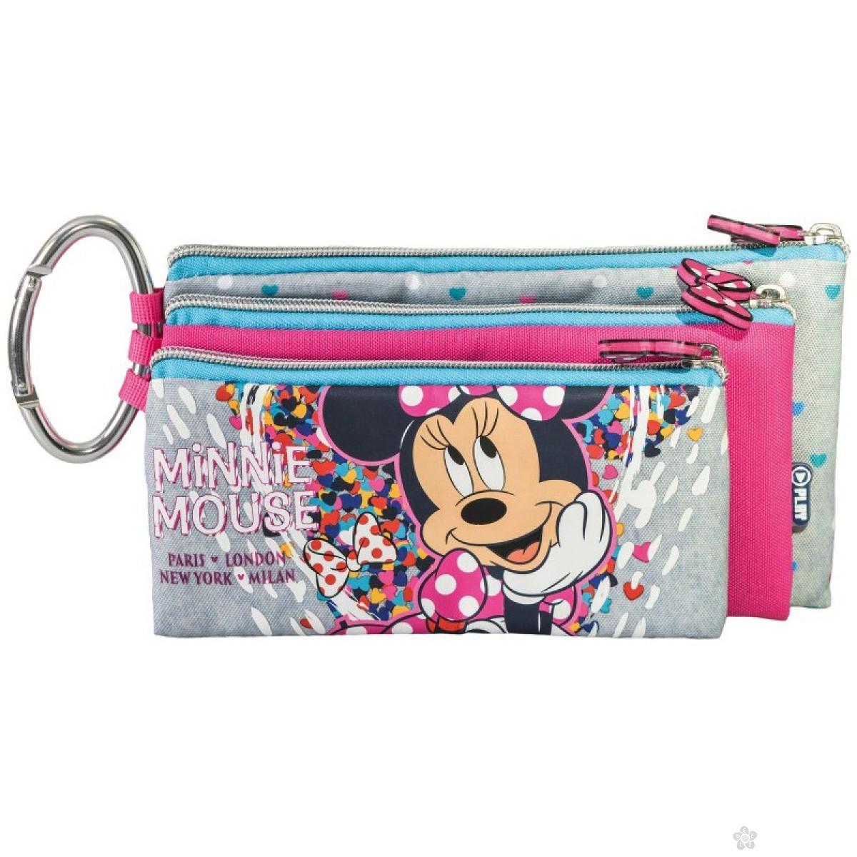 Pernica sa tri zipa Minnie Fashion 318657
