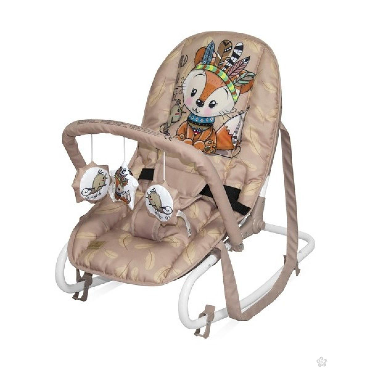 Ležaljka Top Relax Beige Foxy 10110022042