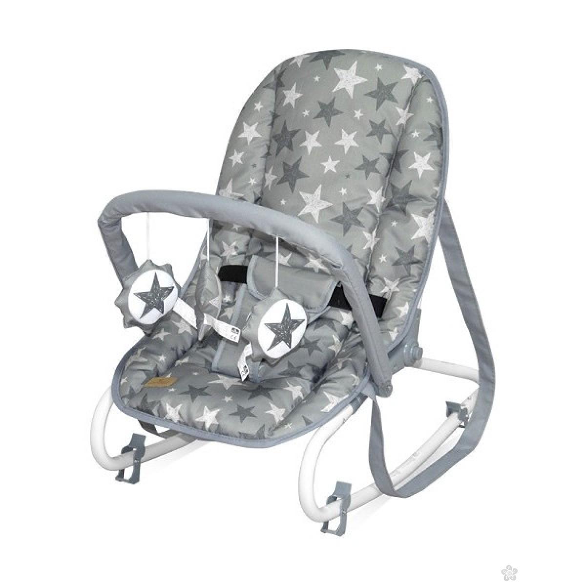 Ležaljka Top Relax Grey Stars 10110022015