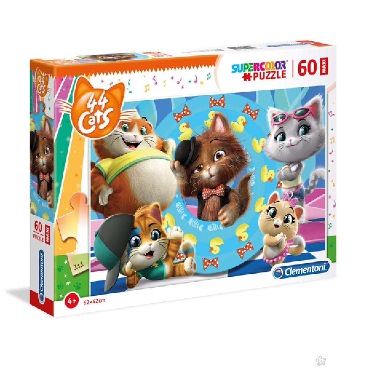 Puzzle 60 Maxi Gatti 26441