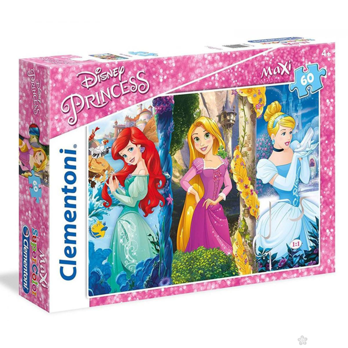 Puzzle 60 Maxi Princess 26416