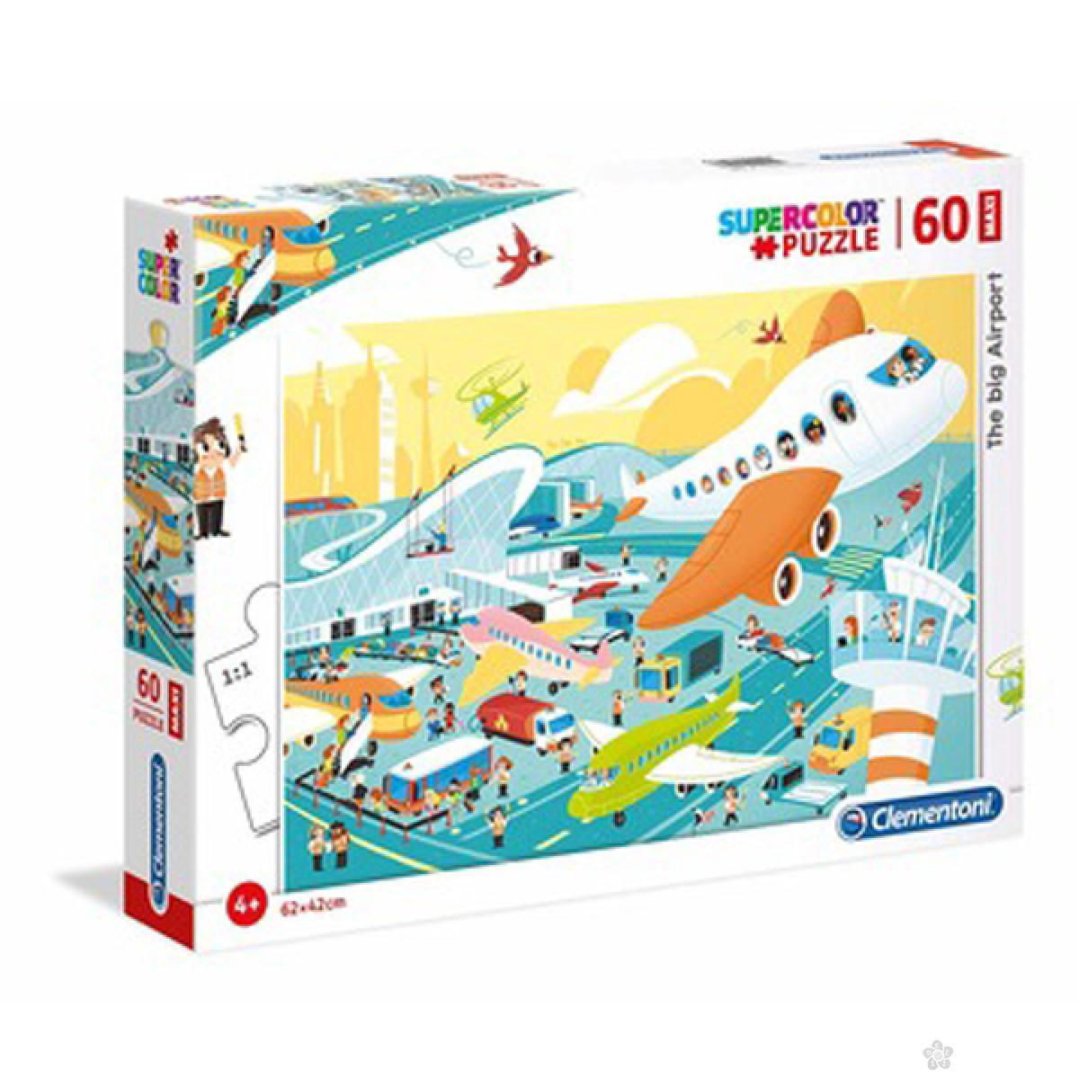 Puzzle 60 Maxi The Big Airport 26447