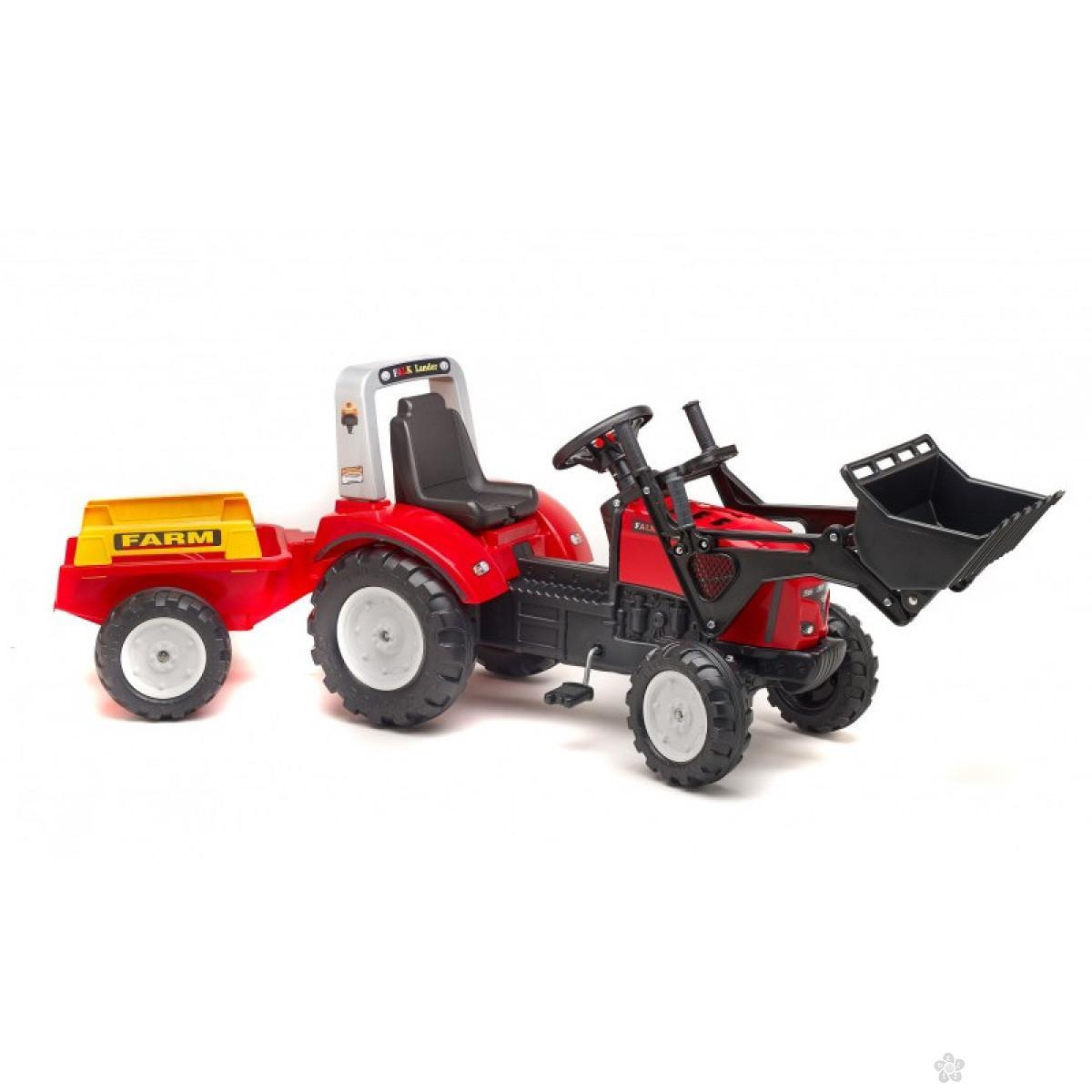 Traktor na pedale Lander 2020am