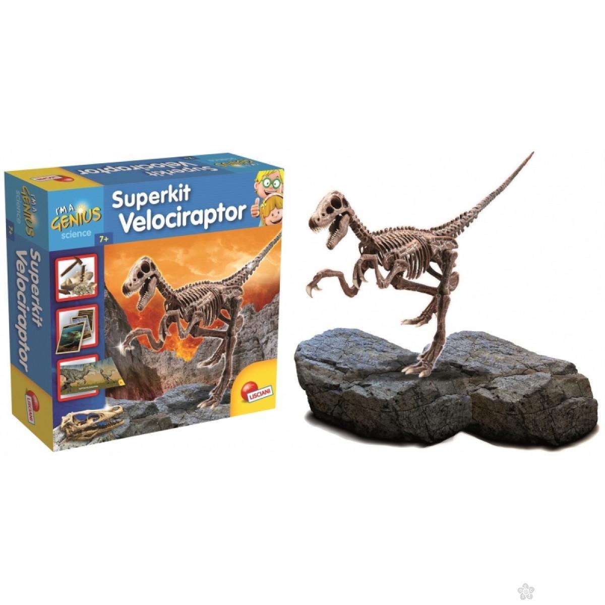 Mali Genije Super Kit Velociraptor 35197