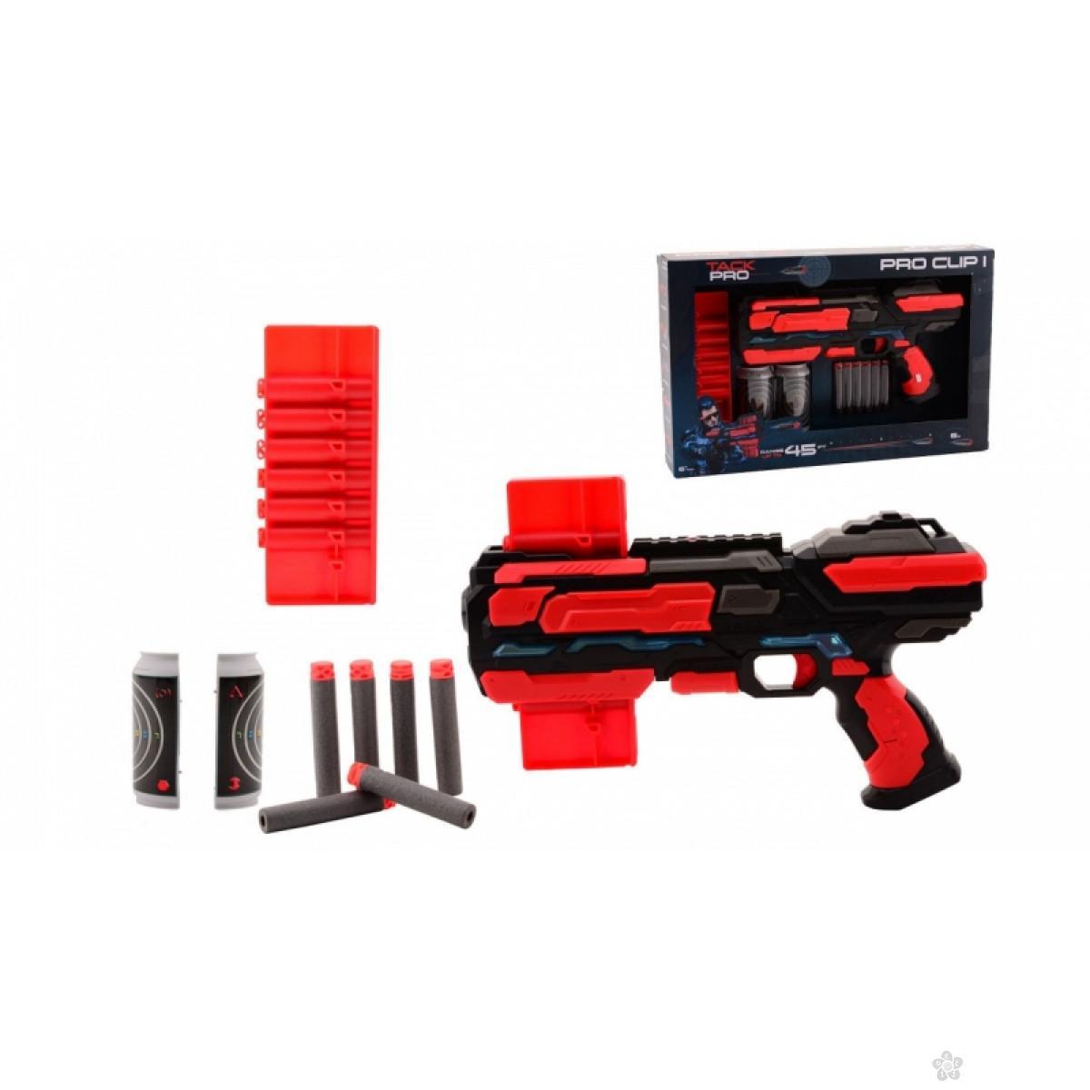 Puška Tack Pro Clip 43076