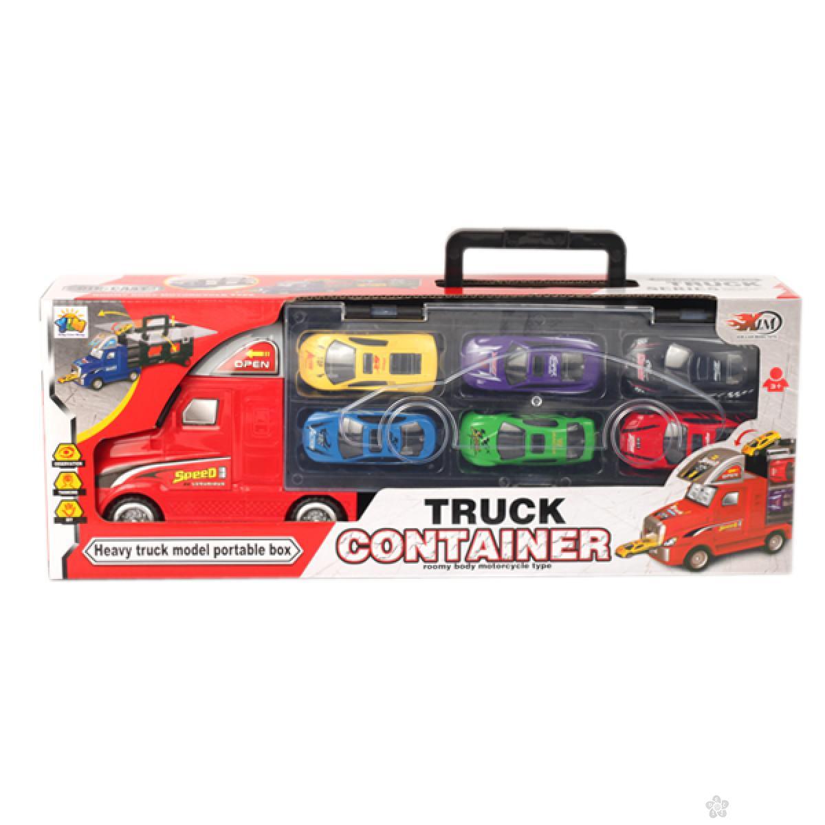Kamion sa automobilima 100829