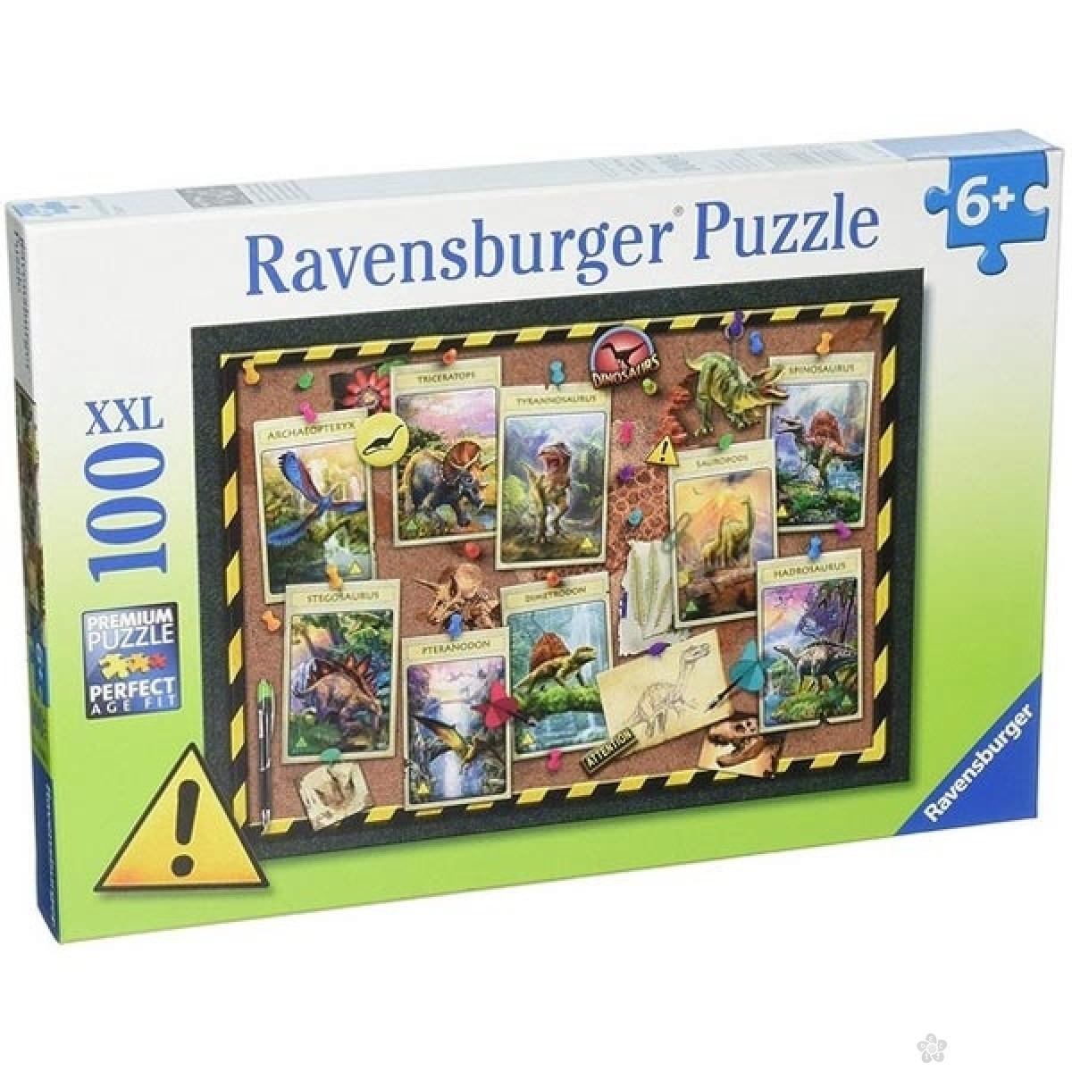 Ravensburger puzzle Dinosaurusi RA10868