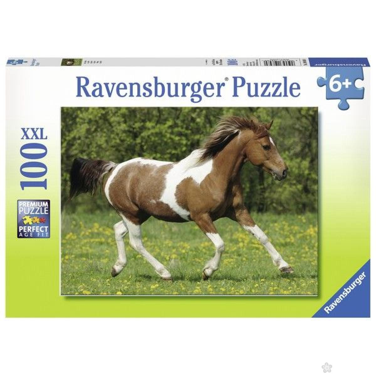 Ravensburger puzzle Konj u galopu RA10848