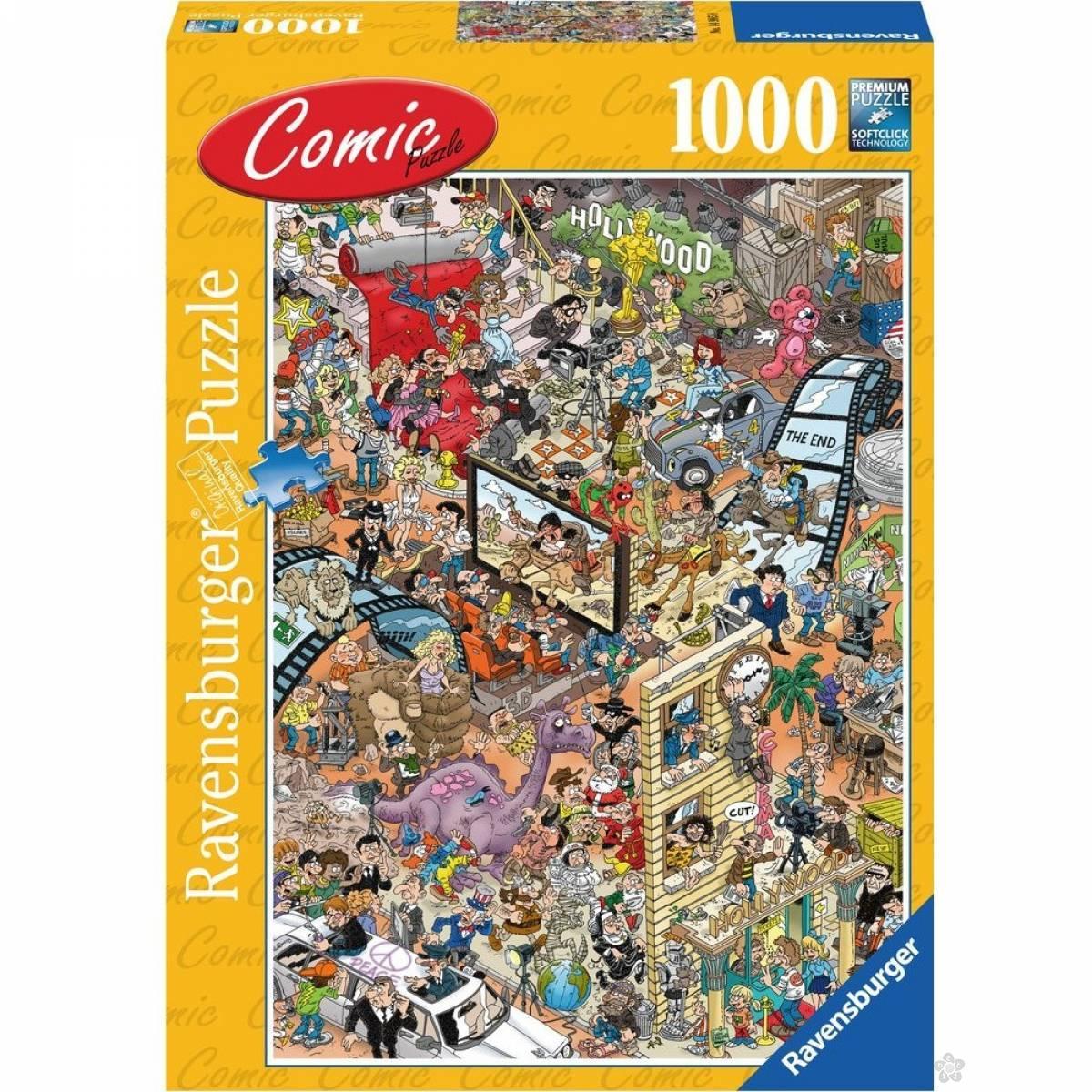 Ravensburger puzzle Comic RA14985