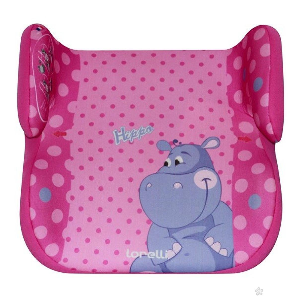 Auto Sedište Topo Comfort Animals Hippo 15-36kg