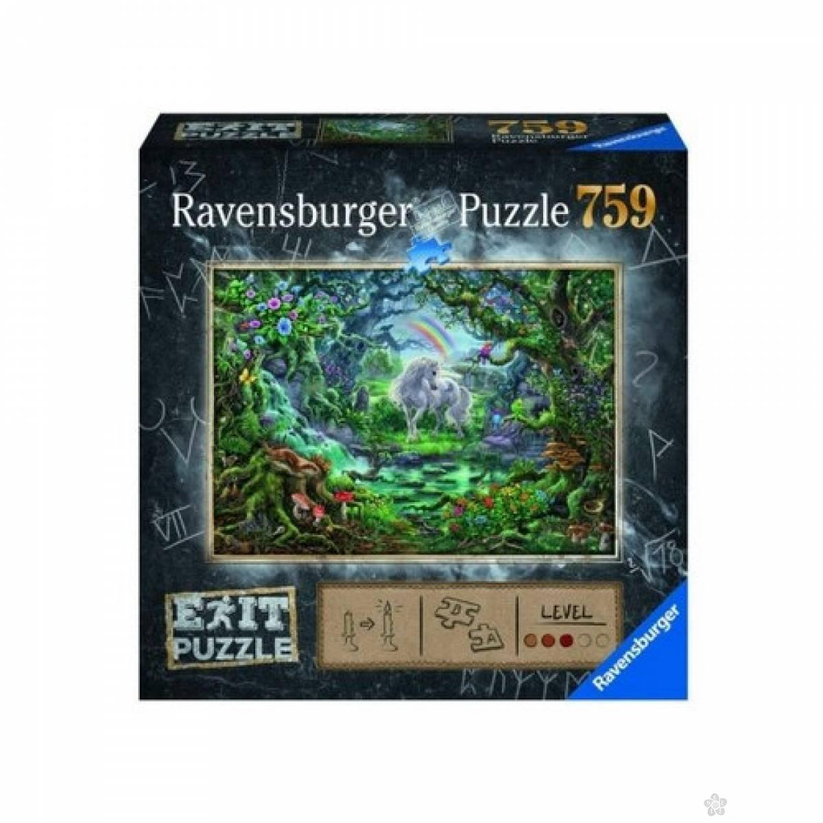 Ravensburger puzzle Jednorog RA15030