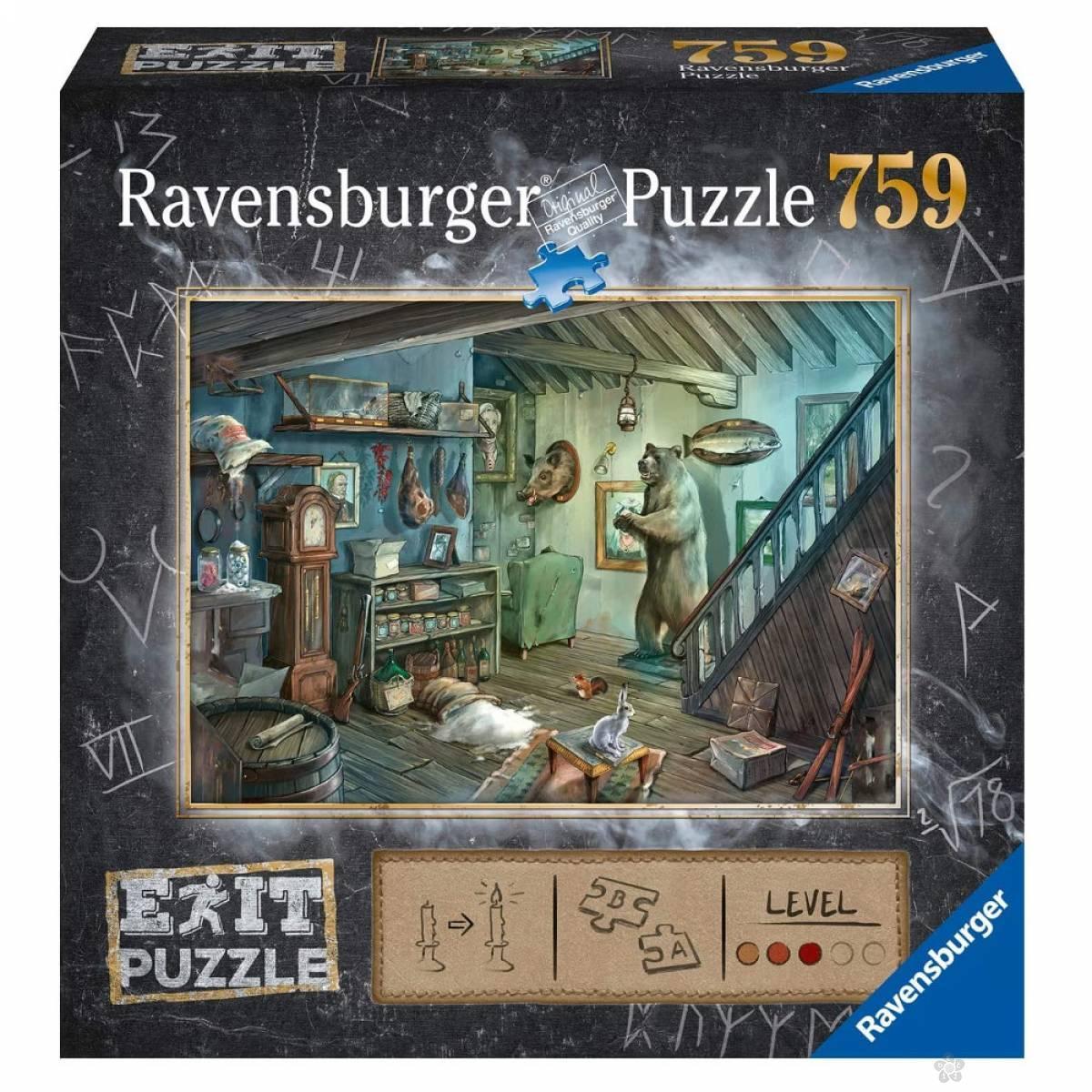 Ravensburger puzzle Soba RA15029