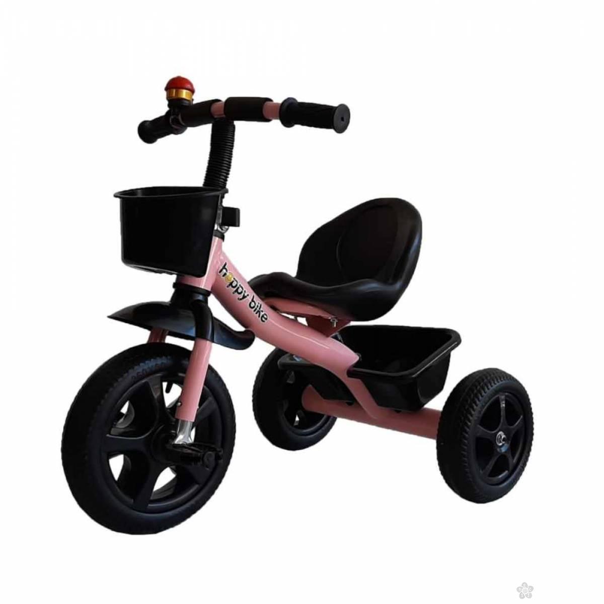 Tricikl za devojčice Nani 426aris,rozi