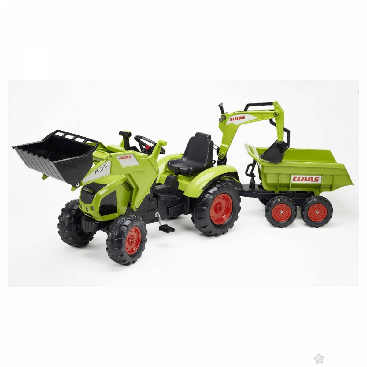 Traktor-bager Claas 1010w